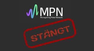 MPN har stängt ner