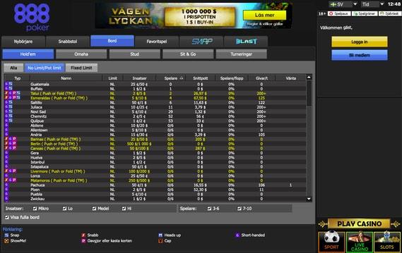 888poker online