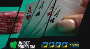 Poker-SM hos unibet 2020
